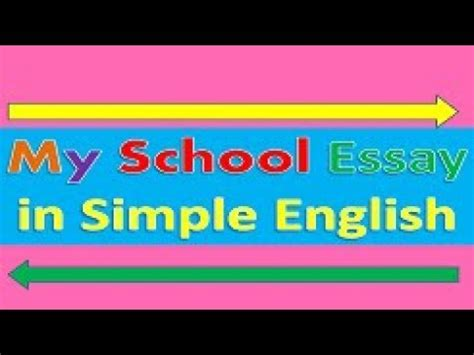 Essay about business english school